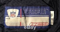 Dallas Cowboys Dat Nguyen Reebok game Issued 2002 Jersey Sz 48 L+6 Autographed