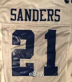 Dallas Cowboys Deion Sanders 1995 game issued Ripon jersey Sz 48 Long
