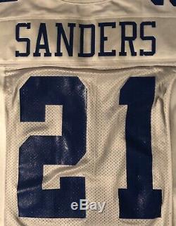 Dallas Cowboys Deion Sanders 1999 game issued Nike jersey Sz 44 Long +7