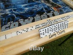 Dallas Cowboys Domino Table by Domino Tables by Art with your name