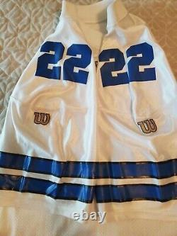 Dallas Cowboys Emmitt Smith Vintage Wilson Authentic Game Equipment Jersey 48