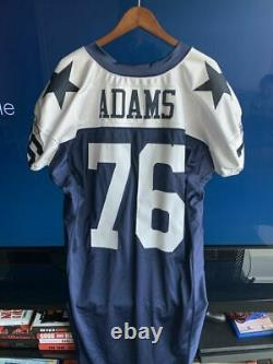 Dallas Cowboys Flozell Adams GAME USED Throwback Jersey 2004 Stitched Reebok