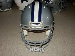 Dallas Cowboys Game Helmet Riddell Revolution Sz Medium