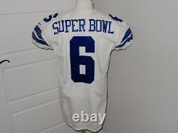 Dallas Cowboys Game Issued Jersey CUSTOMIZED to Super Bowl 6