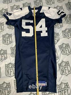Dallas Cowboys Game Issued Jersey, Throwback Double Star, Prova, Navy Blue