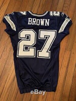 Dallas Cowboys Game Jersey #27 Brown
