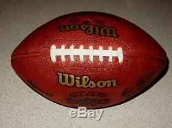 Dallas Cowboys Game Used Football 2003 Kickoff Weekend Witten's 1st Game
