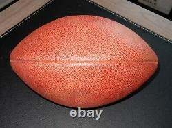 Dallas Cowboys Game Used Football From 2002 Thanksgiving Emmitt Smith