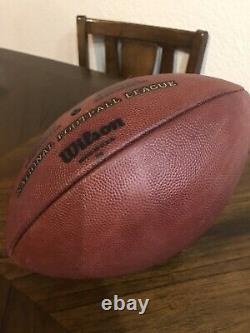 Dallas Cowboys Game Used Football, Steiner COA 11/22/09 Vs Redskins