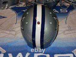 Dallas Cowboys Game Used Helmet Schutt Re Conditioned
