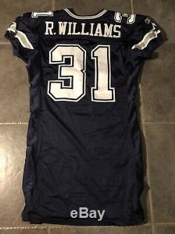 Dallas Cowboys Game Used Roy Williams Reebox Jersey yr 2004 Size 48 Stitched