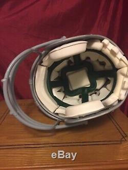 Dallas Cowboys Game Used Worn Schutt Air Helmet Custom Tony Romo