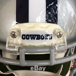 Dallas Cowboys Game Worn Issued Football Helmet 2012 NFL