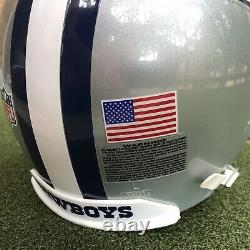 Dallas Cowboys Game Worn Issued NFL Football Helmet