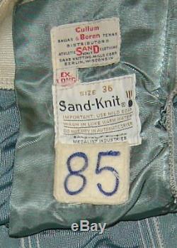 Dallas Cowboys Game Worn Used Durene Football Southland Jersey + Pants HOF