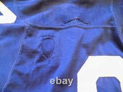 Dallas Cowboys Game Worn Used NFL Durene Football Vintage Jersey Southland 70's