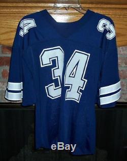 Dallas Cowboys Herschel Walker Away Team Issued Game Issued Jersey
