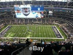 Dallas Cowboys Home Playoff Game 1- 2 tickets, Section 411, Row 23