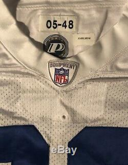 Dallas Cowboys Jason Witten Game Issued Reebox Jersey 2005 Sz 48 Provagroup