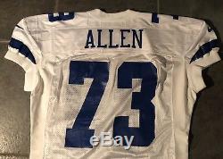 Dallas Cowboys Larry Allen game issued Nike Jersey Sz 52+7 LB 1998 season