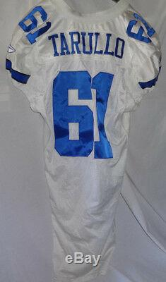Dallas Cowboys MATT TARULLO Team Issued Game Jersey Steiner COA