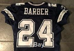 Dallas Cowboys Marion Barber Game Worn Jersey 2005 Reebok Provagroup Certifed