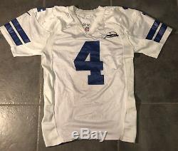 Dallas Cowboys Micah Knorr Game Worn Nike Jersey Size 48 Landry Patch