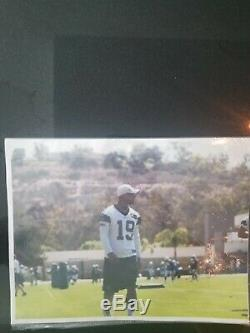 Dallas Cowboys Miles Austin game worn practice jersey Photo matched