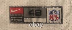 Dallas Cowboys Nike game Worn Greg Ellis 2000 Jersey Sz 48 5 Stitched Repairs