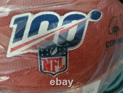 Dallas Cowboys Official NFL 100th Year Anniversary Game Issued Football of 2019