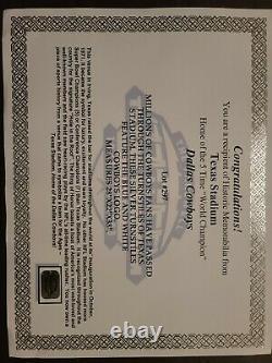 Dallas Cowboys Old Texas Stadium Game Used Turnstile NFL RARE! Ebay 1/1