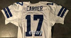 Dallas Cowboys Quincy Carter game issued Nike jersey 2000 size 48 Landry Patch
