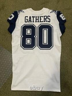 Dallas Cowboys Rico Gathers Color Rush Game Issued Vapor Elite Jersey Nike Sz 46