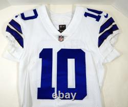 Dallas Cowboys Ryan Switzer #10 Game Issued White Jersey DP09385