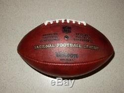 Dallas Cowboys Salute to Service Game Used Football
