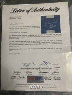 Dallas Cowboys TROY AIKMAN Signed Game Issued Nike Jersey Autograph PSA/DNA