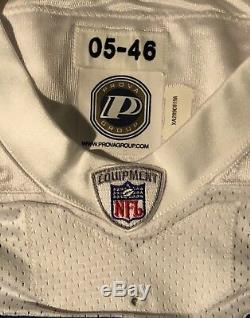Dallas Cowboys Terence Newman Game Issue 2005 Stitched Reebok stretch sleeves