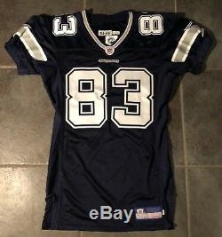 Dallas Cowboys Terry Glenn game issued Jersey Sz 46 2005 season by Reebok RIP
