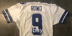 Dallas Cowboys Tony Romo 2007 Reebok game Worn Jersey Provagroup Certified Sz 48