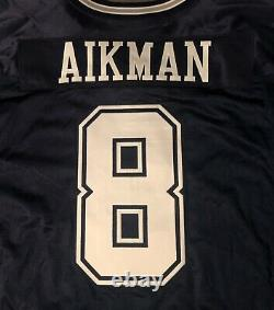 Dallas Cowboys Troy Aikman 2000 game issued jersey with Tom Landry patch Nike