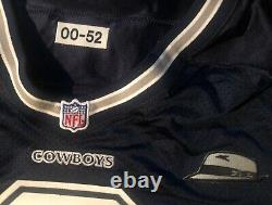 Dallas Cowboys Troy Airman 2000 game issued Nike jersey with Tom Landry patch