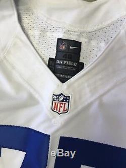 Dallas Cowboys Tyron Smith authentic game Nike jersey size 46 White