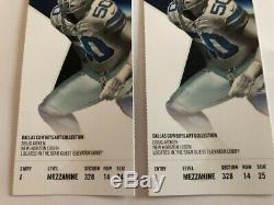 Dallas Cowboys VS LA Rams Game Day 2 Tickets (Sunday, Dec. 15, 2019 @325pm CT)