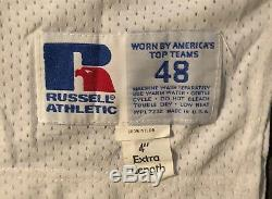 Dallas Cowboys Vintage Bernie Kosar Game Issued Russell Jersey sz 48 long 1992