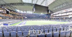 Dallas Cowboys Vs Pittsburgh Steelers Game Tickets C114 Row 18 $500 Each Pair