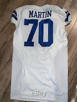 Dallas Cowboys Zack Martin authentic game Nike jersey size 50 White