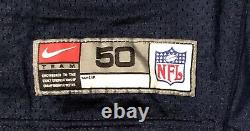 Dallas Cowboys game worn Fricke Nike 2000 jersey with Tom Landry Hat patch sz 50