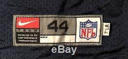 Dallas Cowboys vintage Rocket Ismail 1999 Nike game issued jersey Sz 44-7LB