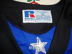 Dallas Desperados arena football DUKE PETTIJOHN Authentic Game Worn Jersey Sz XL