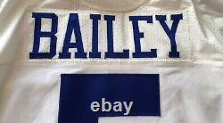 Dan Bailey Dallas Cowboys Game Used With Captain Patch Jersey